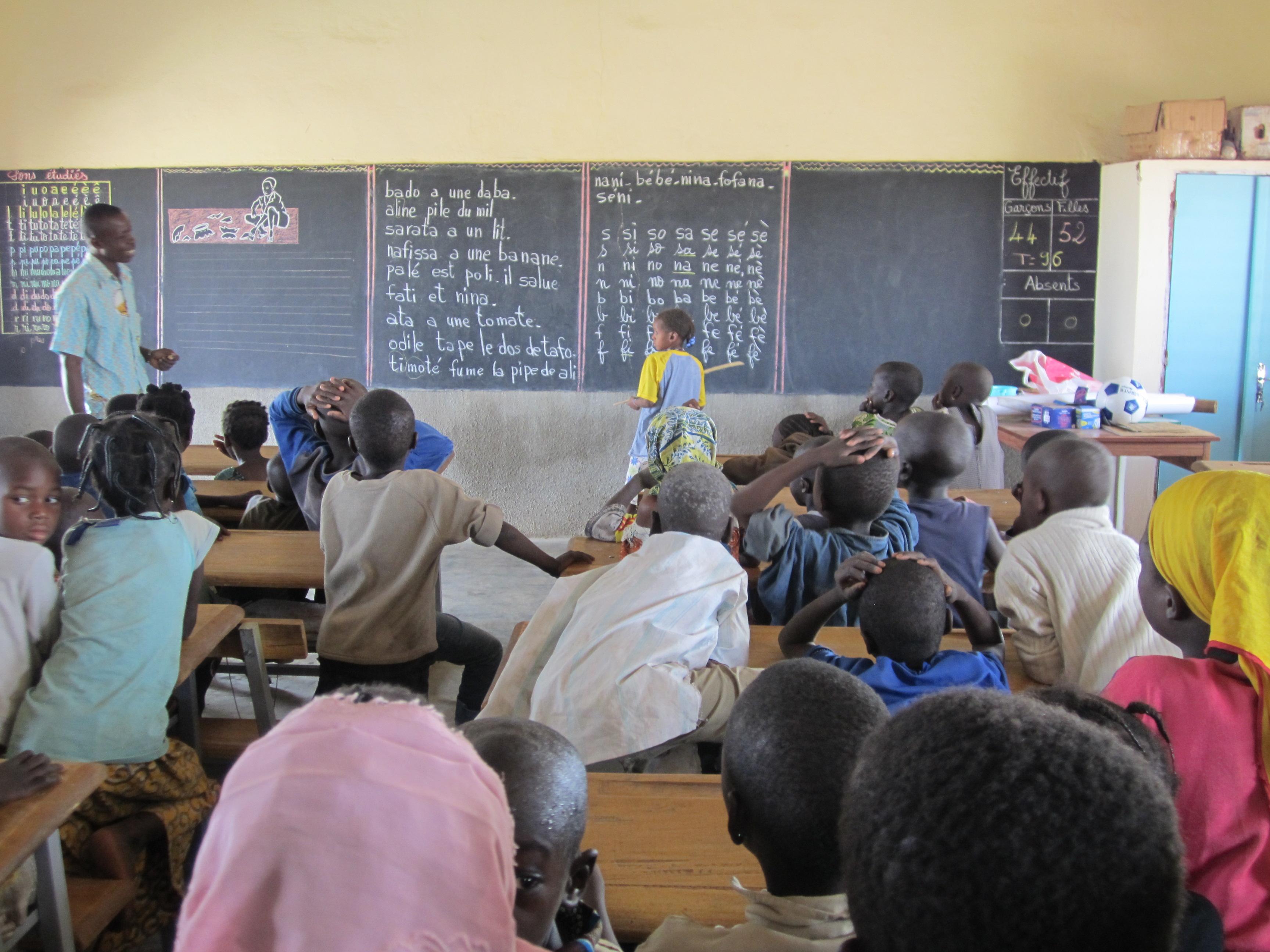 L'école de Mangagou