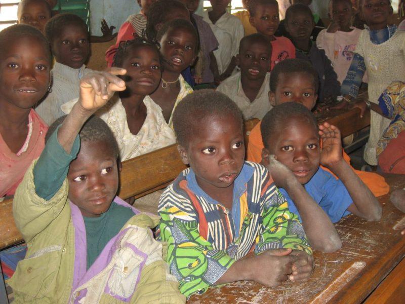 Elèves de Bangou Burkina Entraide