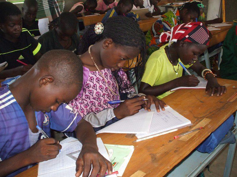 Association Burkina Entraide Ecole primaire