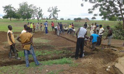 Burkina Entraide construction de l'école