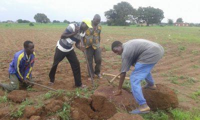Burkina Entraide construction école Doun