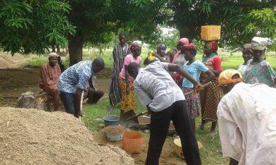 Association Burkina Entraide construction école de Doun