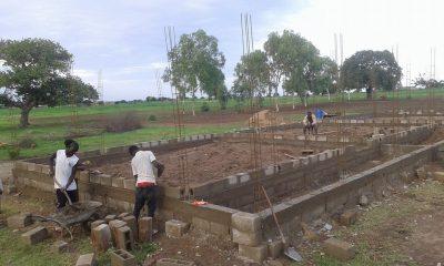 Construction d'une école au Burkina