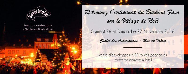 vilage de Noël Reims