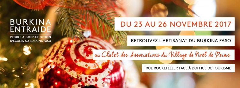 Village de Noël Reims Burkina Entraide