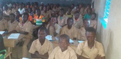 les collégiens de Bangou